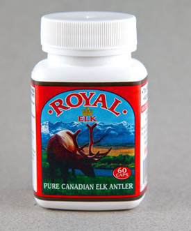Elk Velvet Antler Capsules for Sale