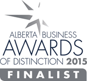 Alberta business awards of distinction 2015